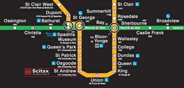 Toronto Subway Map Pdf.Sr Ed Sr Ed Sred Sr Ed Toronto Scitax Advisory Partners Lp